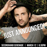 Secondhand Serenade & Ryan Cabrera