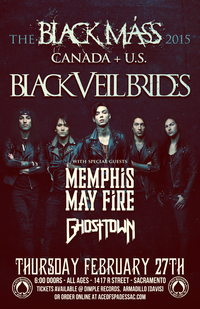 Black Veil Brides & Memphis Mayfire