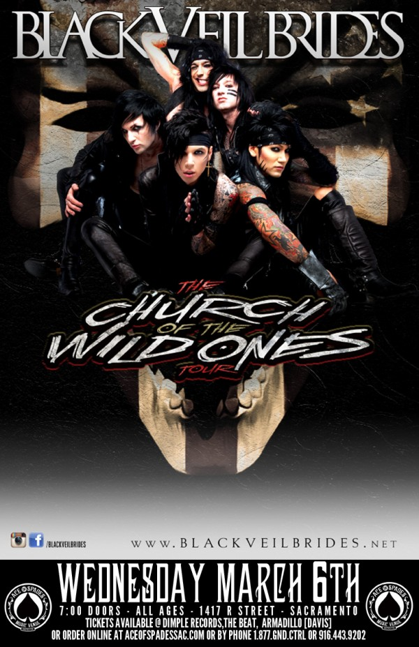 Black Veil Brides as Vampires