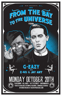 2nd G-Eazy Show added!