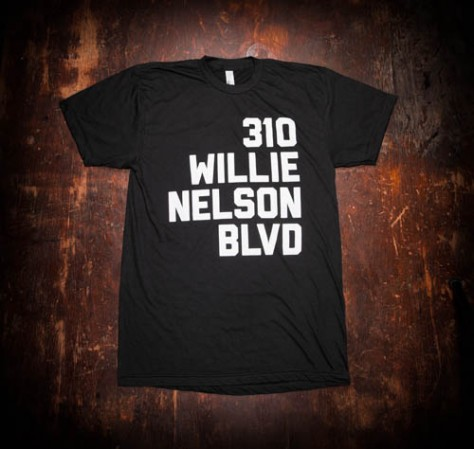 310 Willie Nelson Blvd. T-Shirt