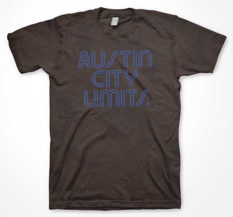 Men's Brown w/ Blue Logo Shirt