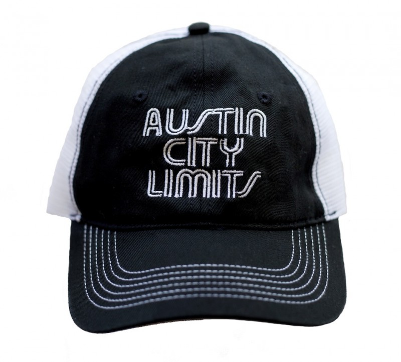 Black and White Mesh Trucker Hat