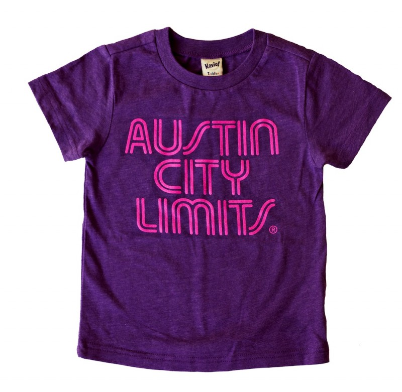 Toddler Purple T-Shirt w/ Pink Writing