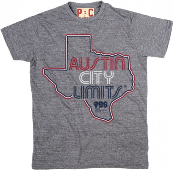 Men's Grey Shirt w/ Texas Outline