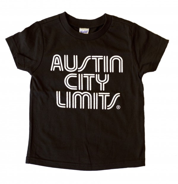 Toddler Black T-Shirt w/ White Writing