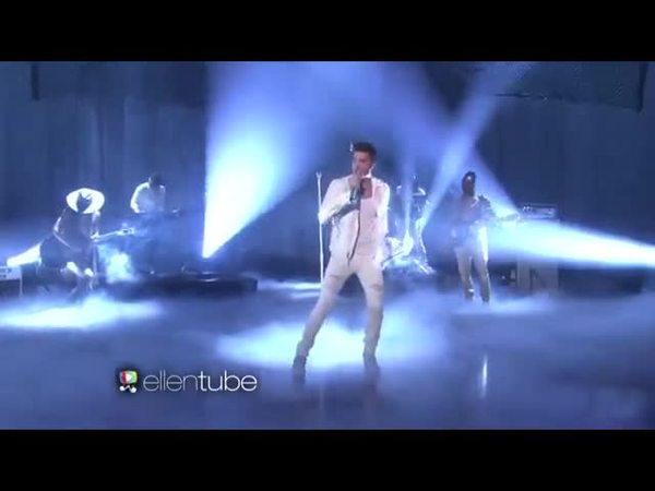 Adam's Performance on Ellen