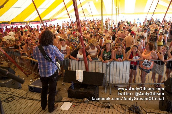 Andy Gibson Performs at Country Concert 2012