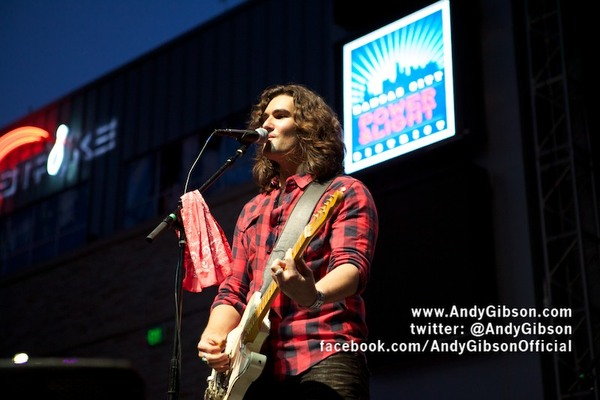 Andy Gibson at The Kansas City Power And Light District