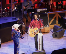 Andy Gibson Debut Performance at The Grand Ole Opry