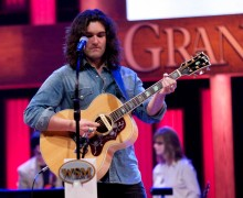Andy Gibson At The Grand Ole Opry