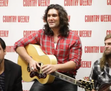 Andy Gibson Performs Live For Country Weekly, Nashville, TN