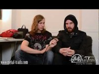 Interview with Josh Gilbert @ European Tour 2012 with Trivium