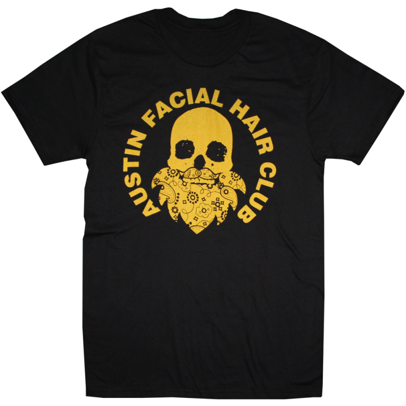 Austin Facial Hair Club T-Shirt