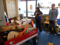 Mattel Visit & Instrument Donation June 2011