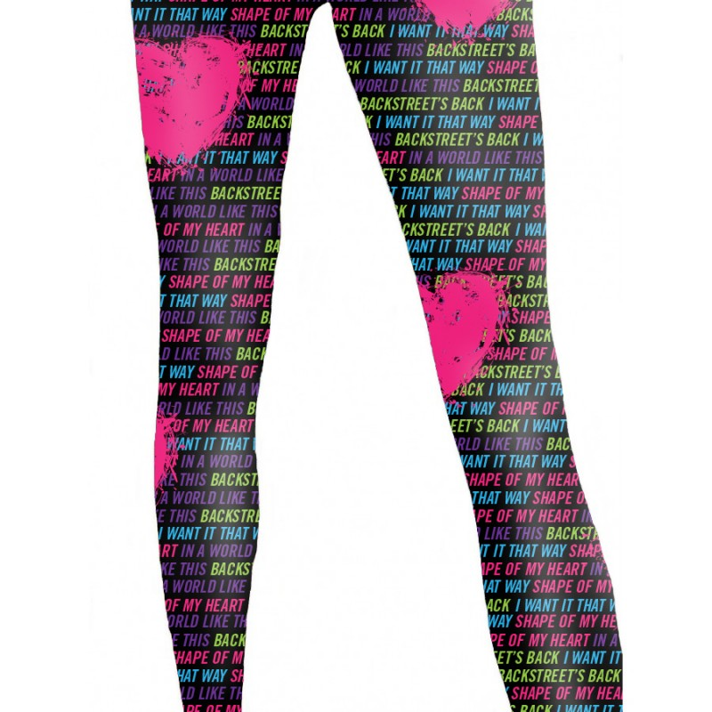 Custom Backstreet Boys Lyric Leggings
