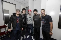 The guys with Niall of One Direction!