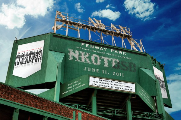 New Kids On The Block Fenway Park