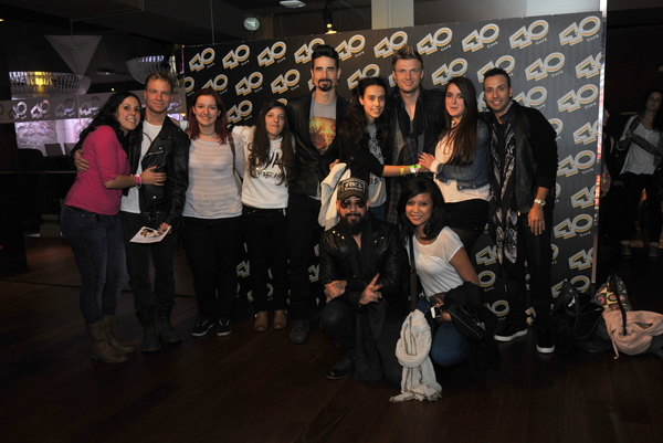 Spain - Radio / Fan Event M&G