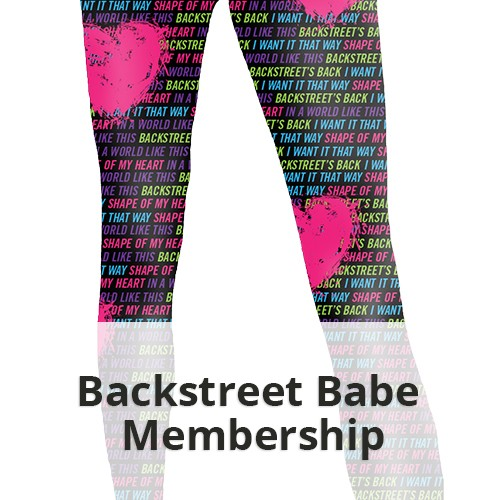 The Backstreet Babe Package with Leggings