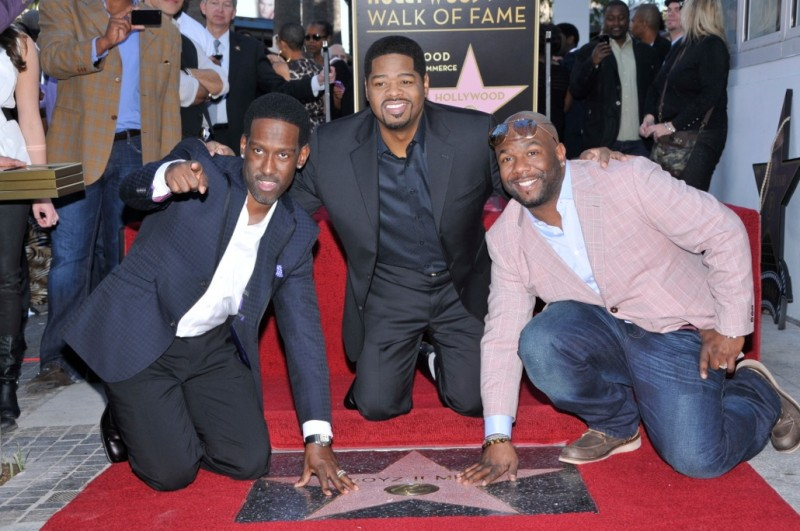 Boyz II Men received the first Star awarded in 2012 - 1/5/12