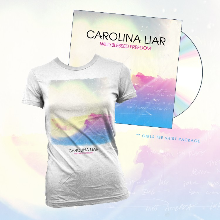 Womens T-Shirt and Physical CD bundle