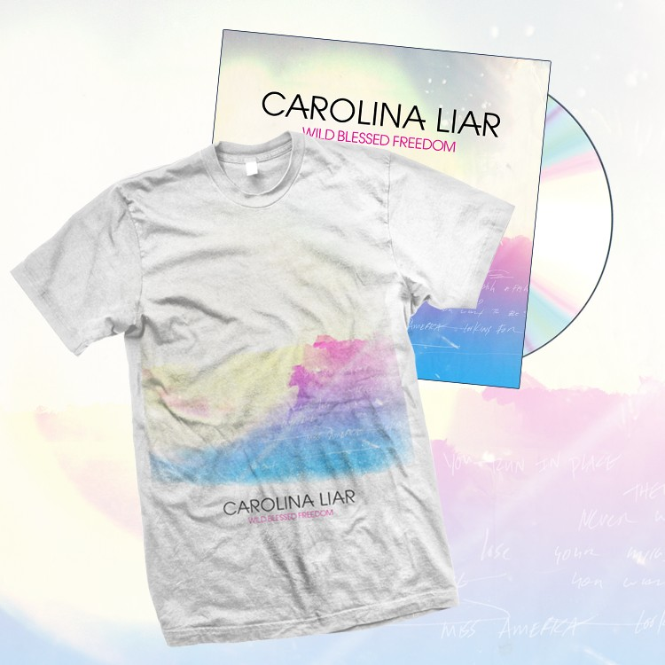 T-Shirt and Physical CD bundle