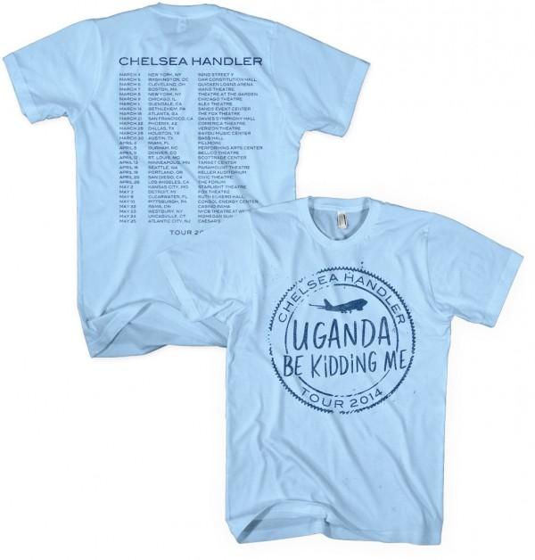 Uganda Be Kidding Me Tour Stamp T-Shirt