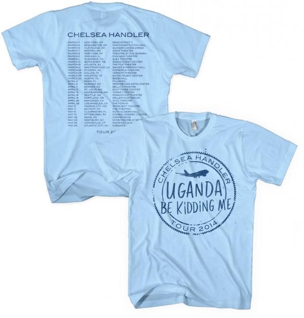 Uganda Be Kidding Me Tour Stamp T-Shirt