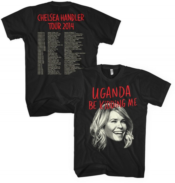 Uganda Be Kidding Me Tour T-Shirt