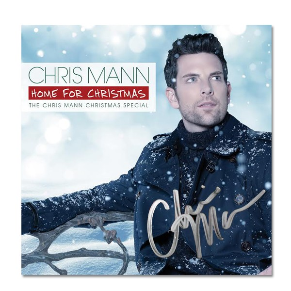 Autographed Home For Christmas CD/DVD