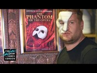 Late Late Show Host James Corden Joins Chris Mann and The Phantom of the Opera Cast