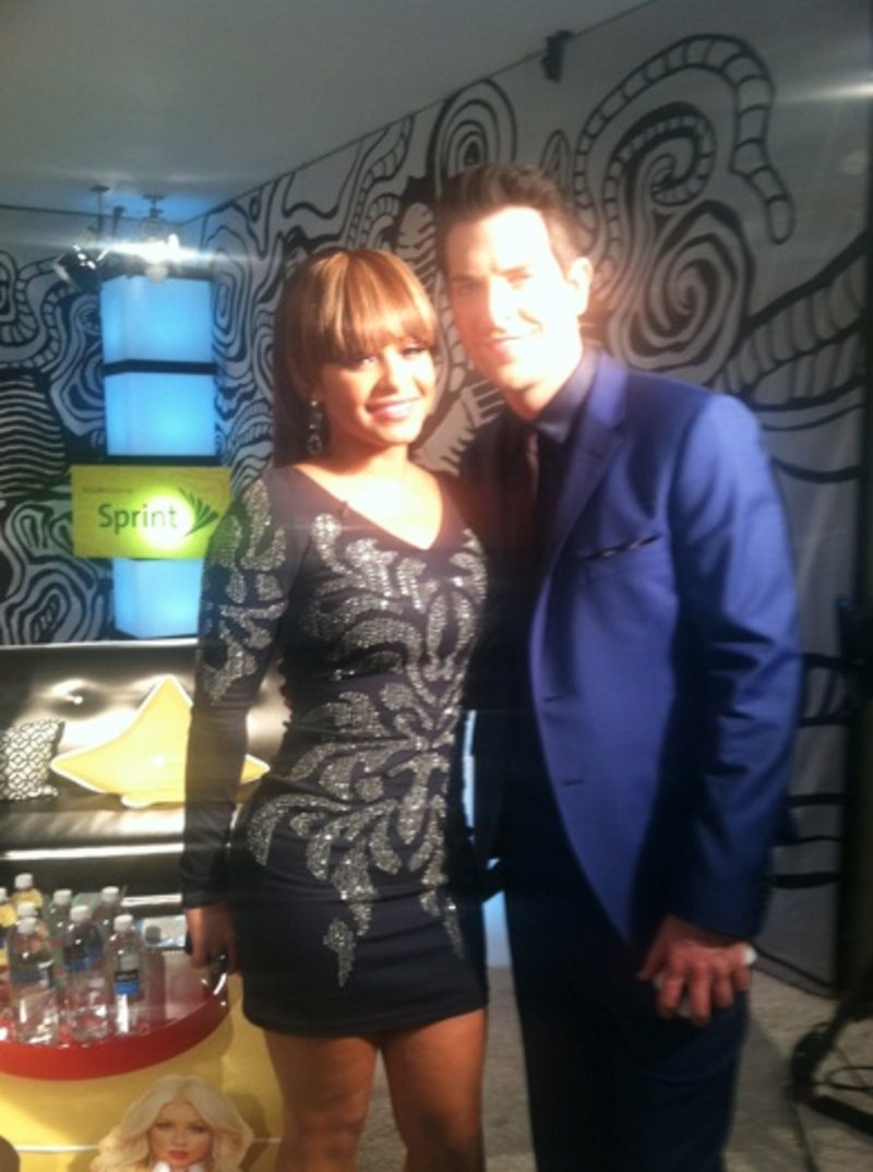 Chris and Christina Milian on The Voice Aftershow