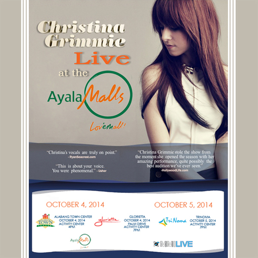 Image for Christina is coming to Manila!