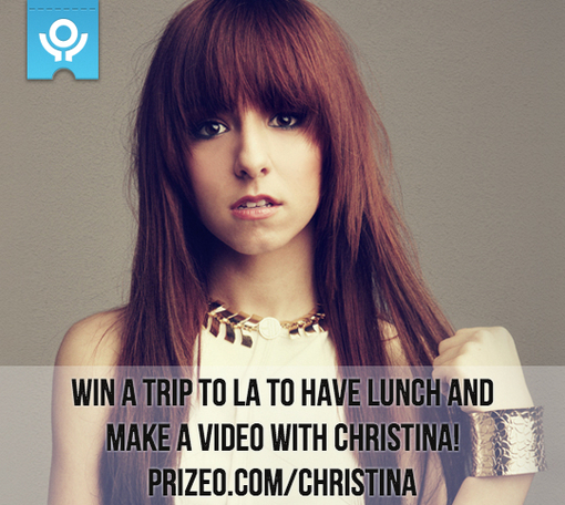 Image for Have Lunch with Christina & Make a YouTube Video with Her!