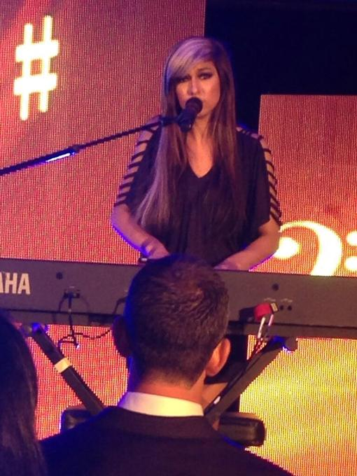 Image for Christina Grimmie Performs at NMPA awards