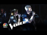Christina Grimmie and Adam Levine:  Somebody that I used to know