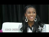 COCO JONES Backstage at Essence