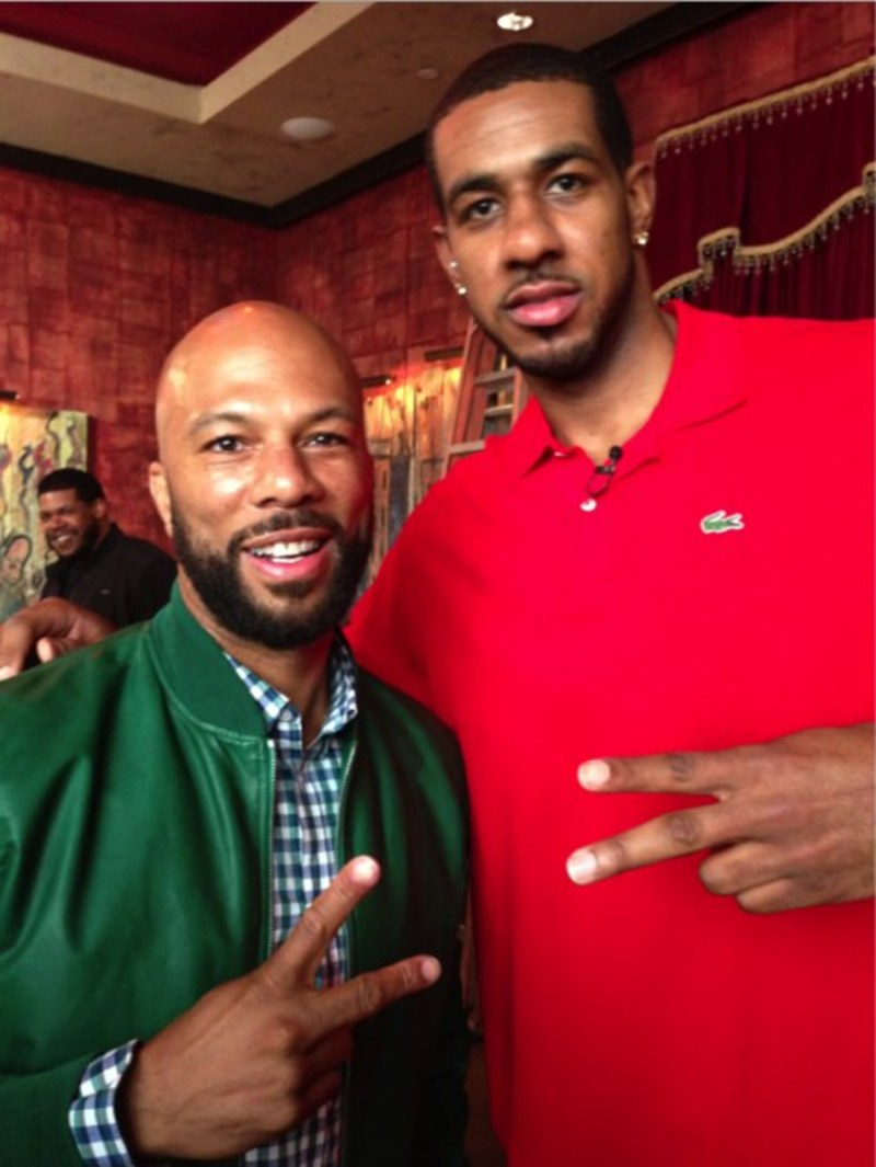 COMMON & Lamarcus Aldridge