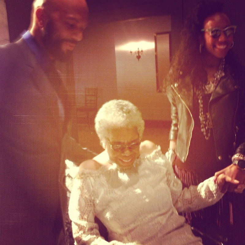 COMMON with Dr. Maya Angelou on her 85th birthday