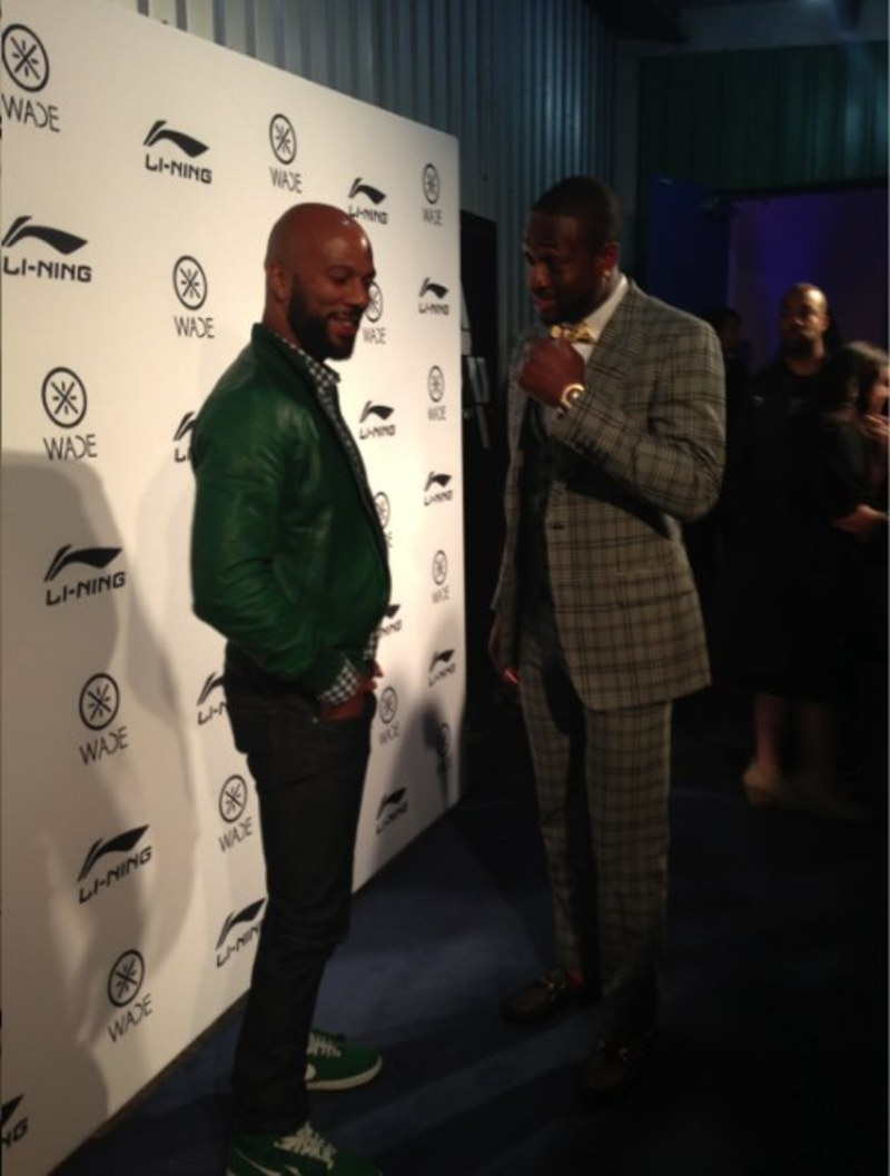COMMON at the Way of Wade event AllStar 2013