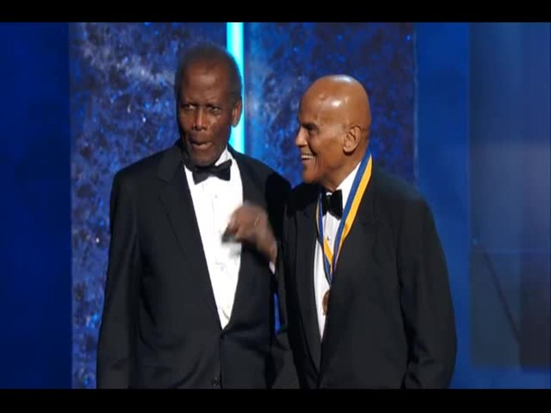 Common & Wyclef at the 44th NAACP Image Awards
