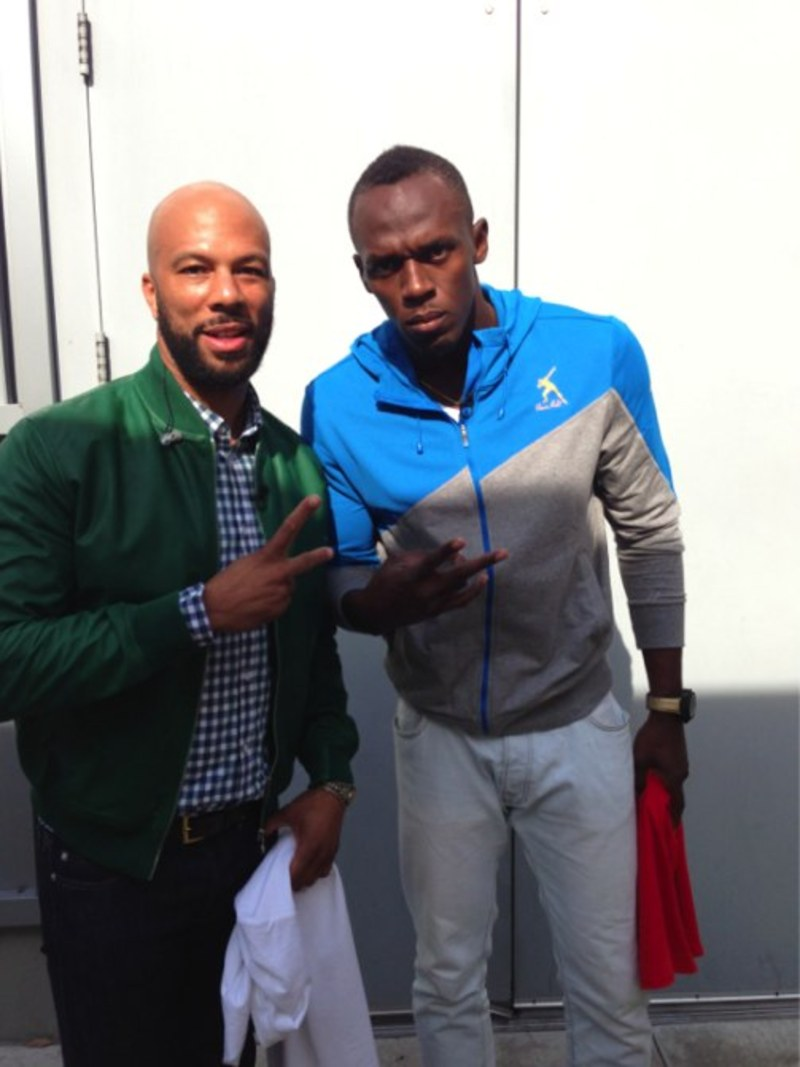 COMMON & Usain Bolt