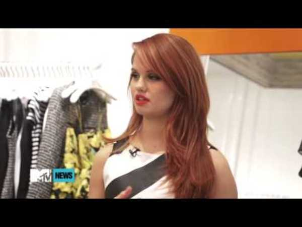 Debby Ryan Admires Demi Lovato's 'Sense Of Self'   News Video   MTV