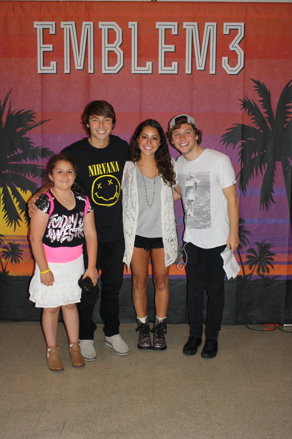 meet and greet emblem 3