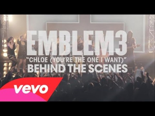 Emblem3 - Chloe (You're The One I Want) - Behind The Scenes