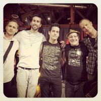 Jon, Tom Banks (Camera), Tony, Bill Fishman (Director), & Max