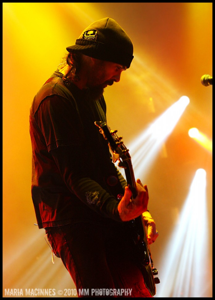 Godsmack live at the Hammerstein Ballroom NYC 2010  Photo by: Maria MacInnes M.M. Photography 2010