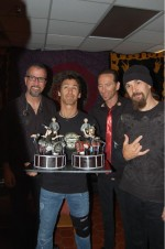 The guys with the Godsmack cake ~ Holmdel, NJ