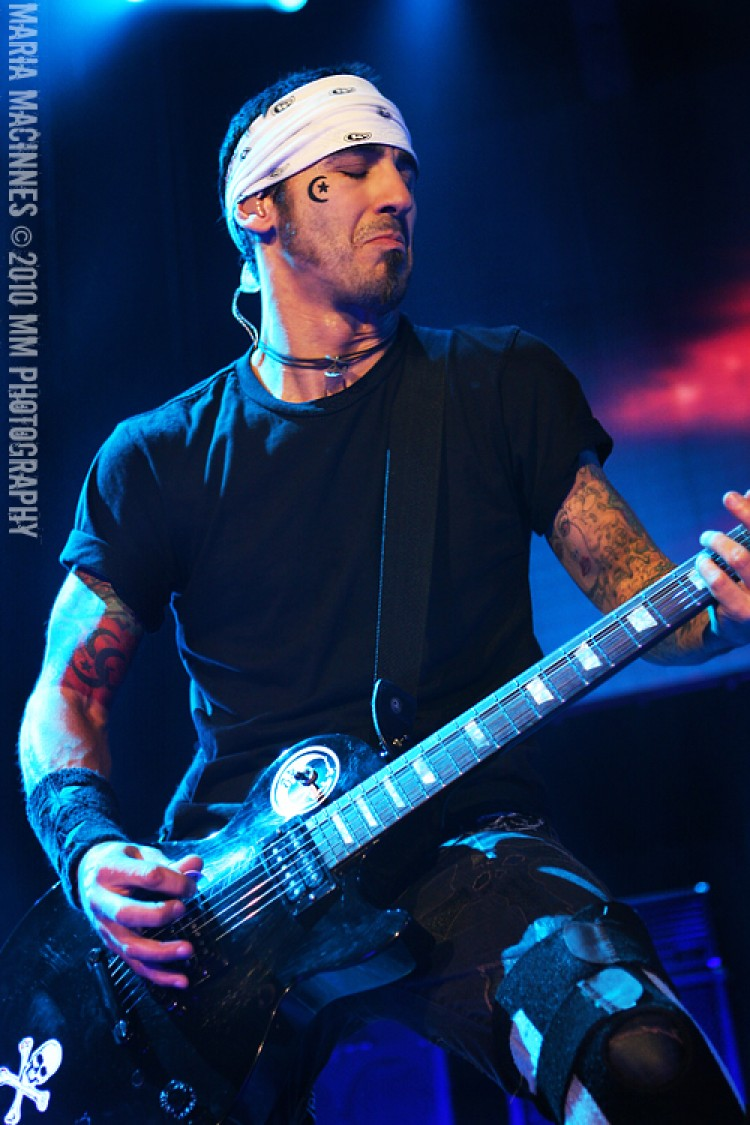 Godsmack Wilkes Barre, PA show 2010 Photo by Maria MacInnes M.M. Photography